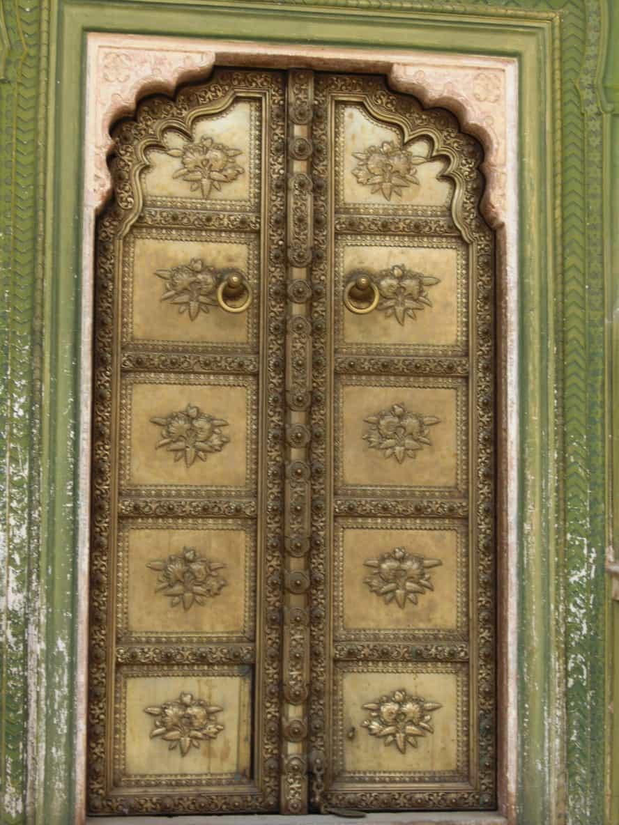 Türen in Indien