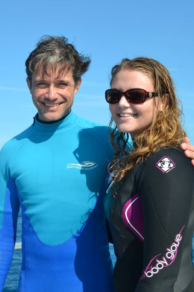 Me and Fabien Cousteau