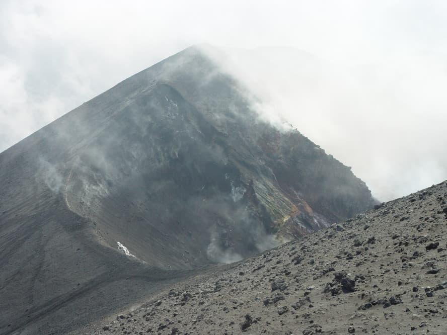 Mt. Etna in Sicily, Italy