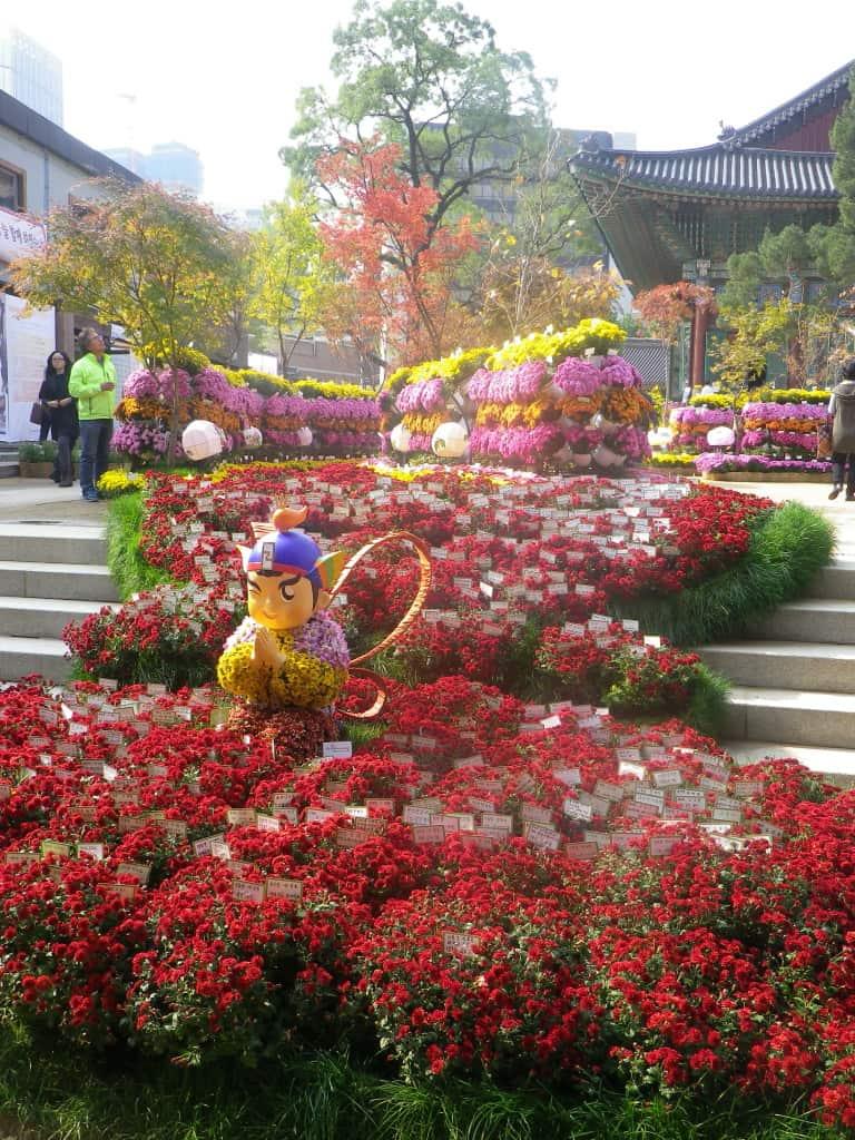 Jogyesa Temple Seoul Südkorea