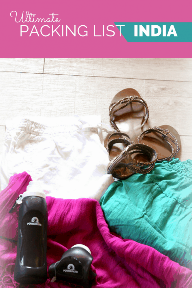 Ultimate Packing List for India Woman