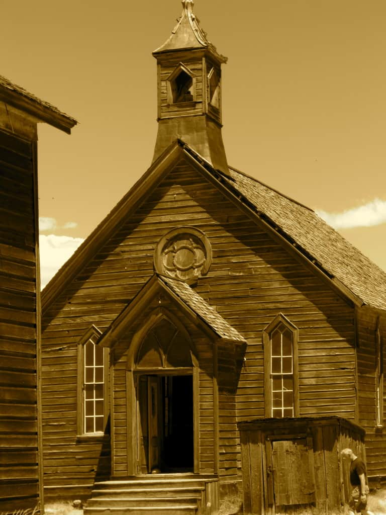 Ghost Town Bodie in California