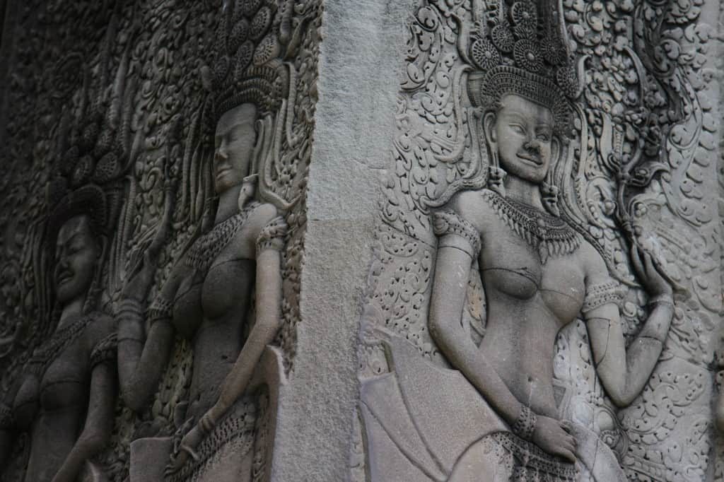 Silicone implants in Angkor Wat