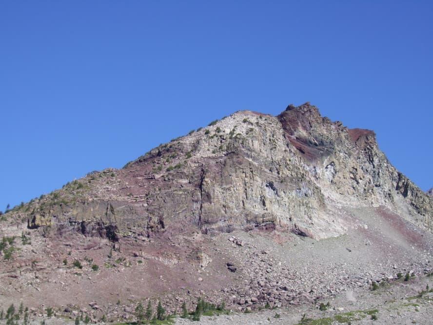 Mount Shasta Weiße Berg Kalifornien