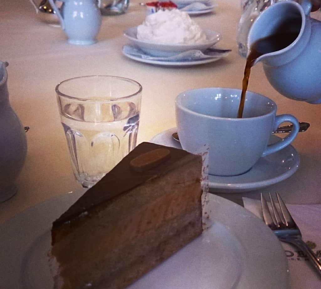 Kaffeehaus Kaffee Torte Demel Wien