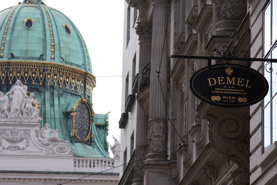 Demel Hofburg Vienna Austria