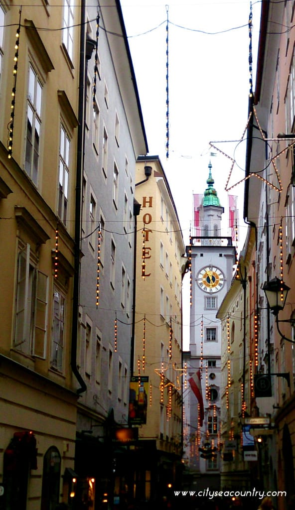 Salzburg: Impressions From The City Along The Salzach