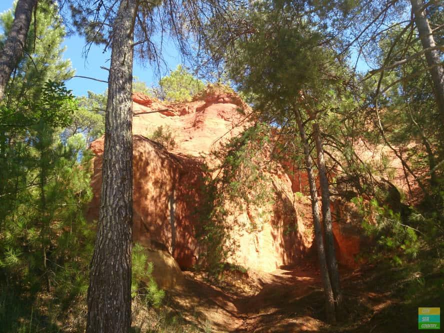 National Park rund um Roussillon, Frankreich