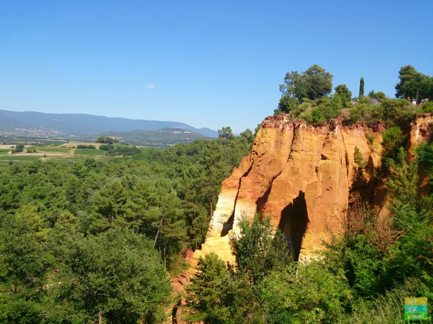 Roussillon in Provence France