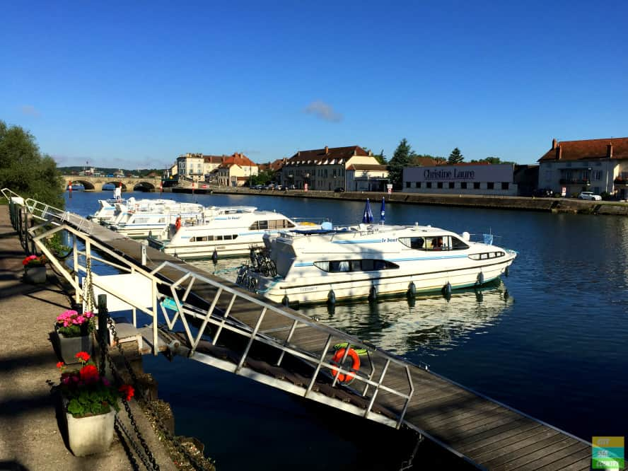 Slow Travel Along The Saône River With A House Boat