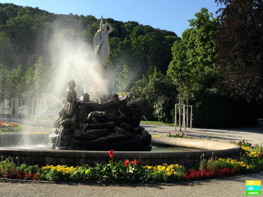 Fountain in the Kurpark