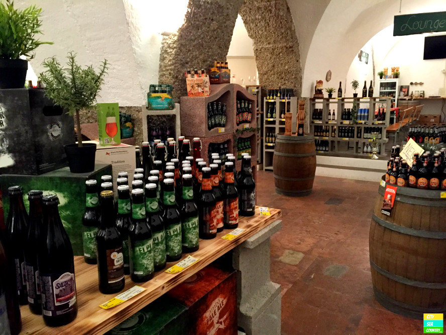 The Bottle Shop in Salzburg, Austria