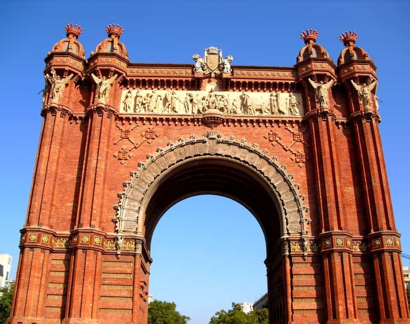 Die besten Tipps für Barcelona; Im Bild: Arc de Triomf