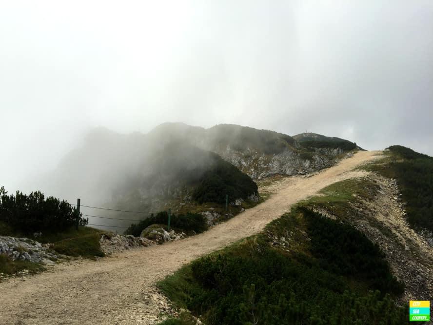 Untersberg im Nebel