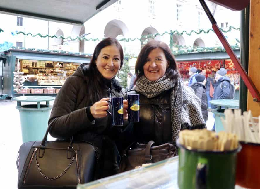 Salzburger Christkindlmarkt Weihnachtsmärkte Österreich