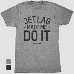 Jetlag T-Shirt Airportag Christmas Ideas For Travelers For Him