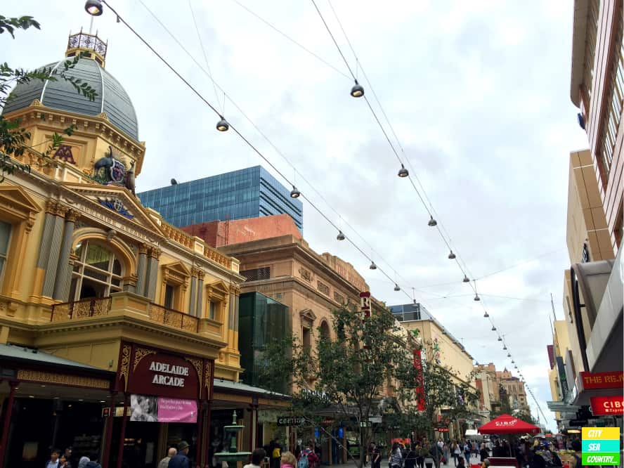 Adelaide Rundle Mall