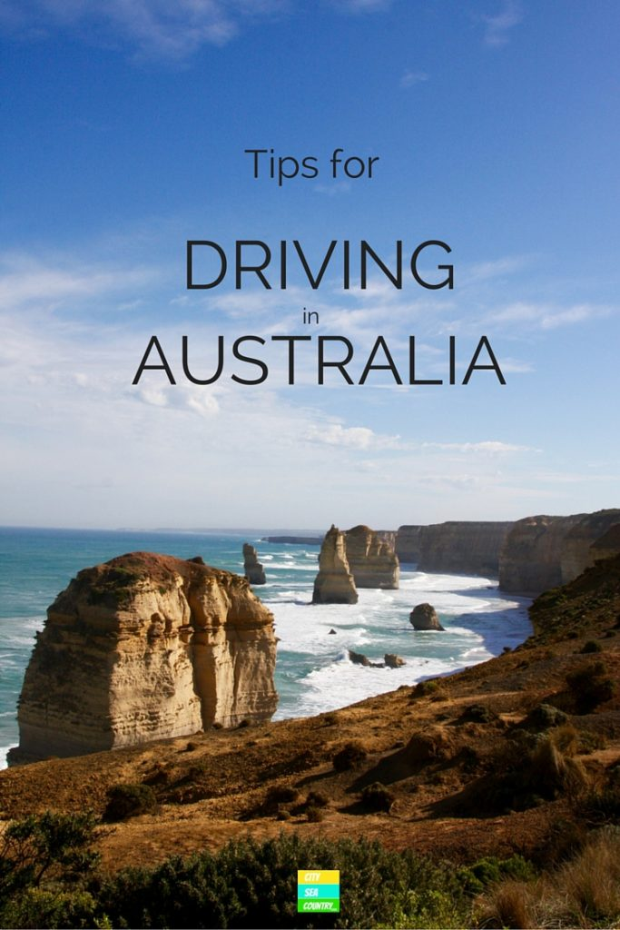 Australia tips for driving left and renting a car