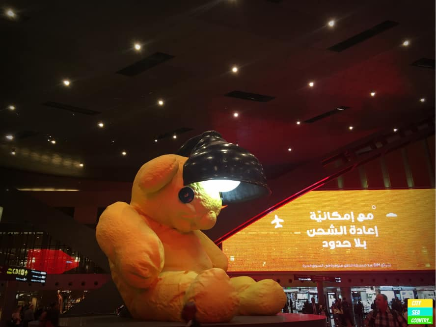 Kunst im Hamad International Airport in Doha