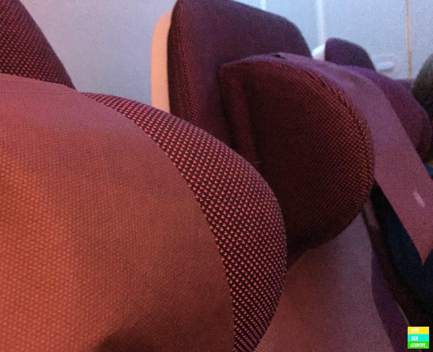 Qatar Airways verstellbare Kopfstützen