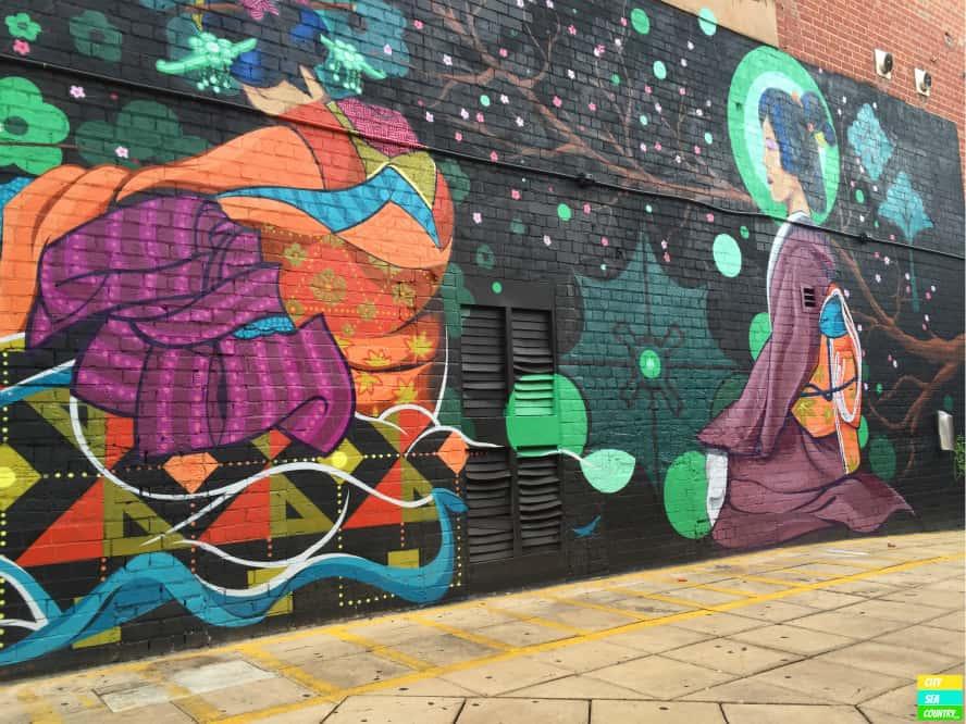 street art murals Adelaide