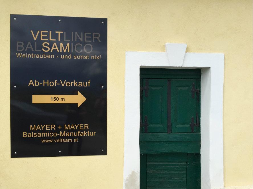 Thomas Mayer - Mayer+Mayer Balsamico-Manifaktur