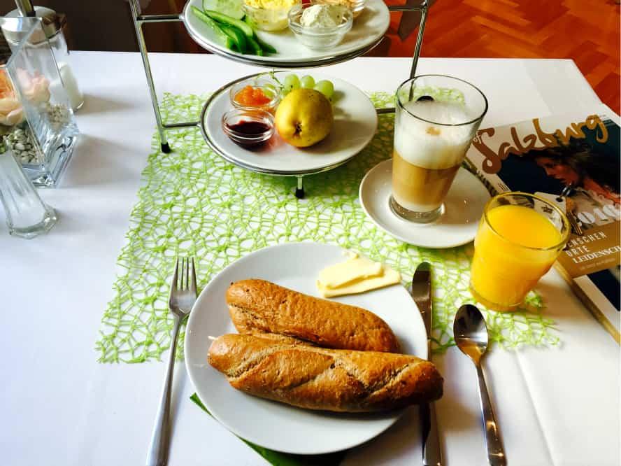 Frühstück Urban Stay Salzburg City