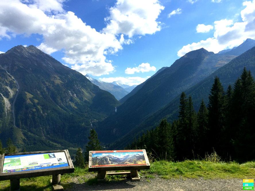 Gerold Alpenstraße mit Krimmler Wasserfälle