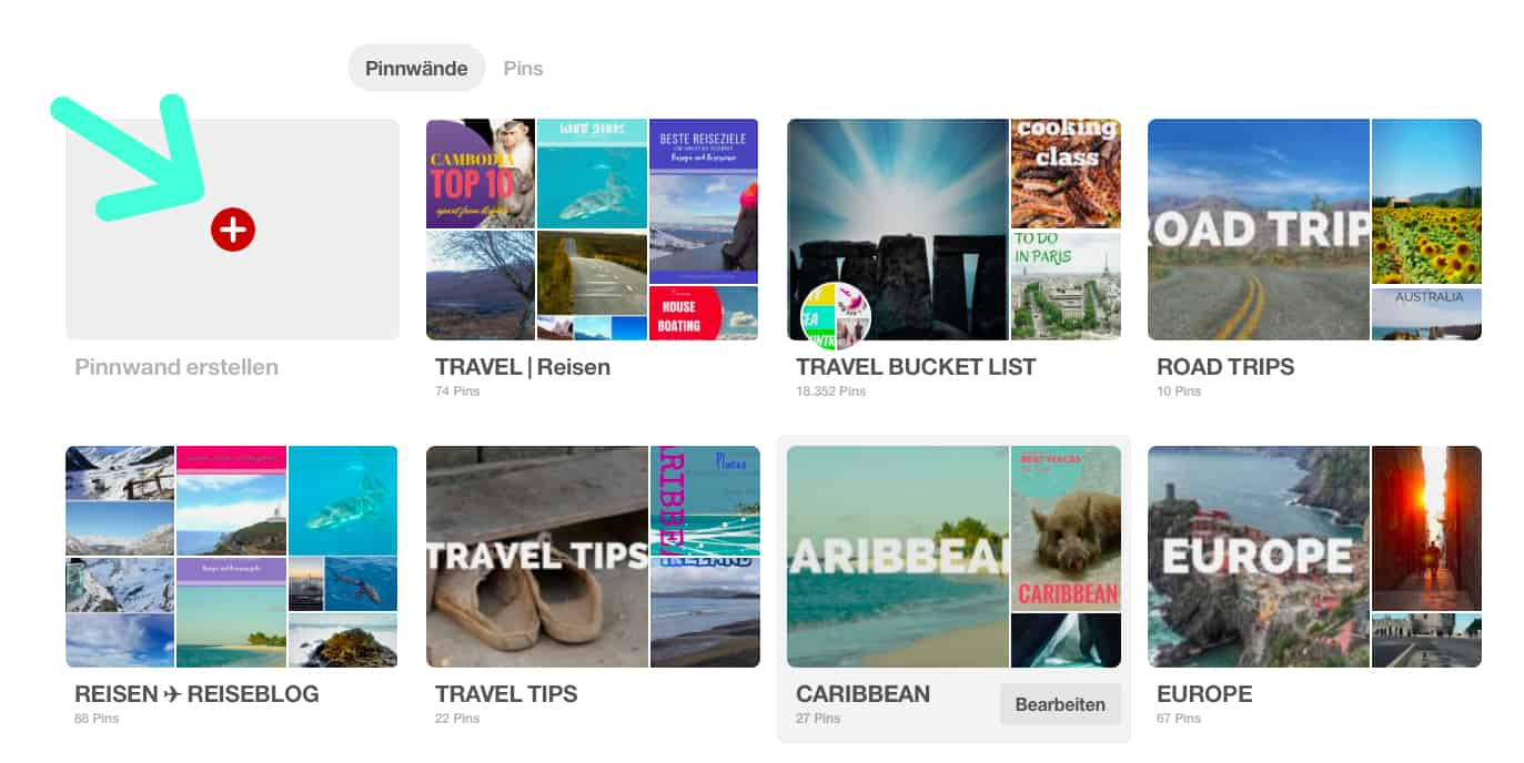 Pinterest Reise Urlaub planen