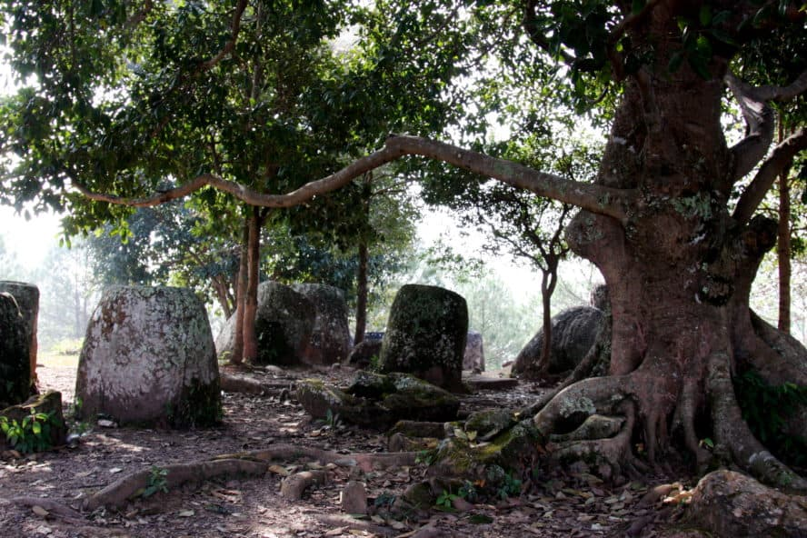 Laos travel plain of jars
