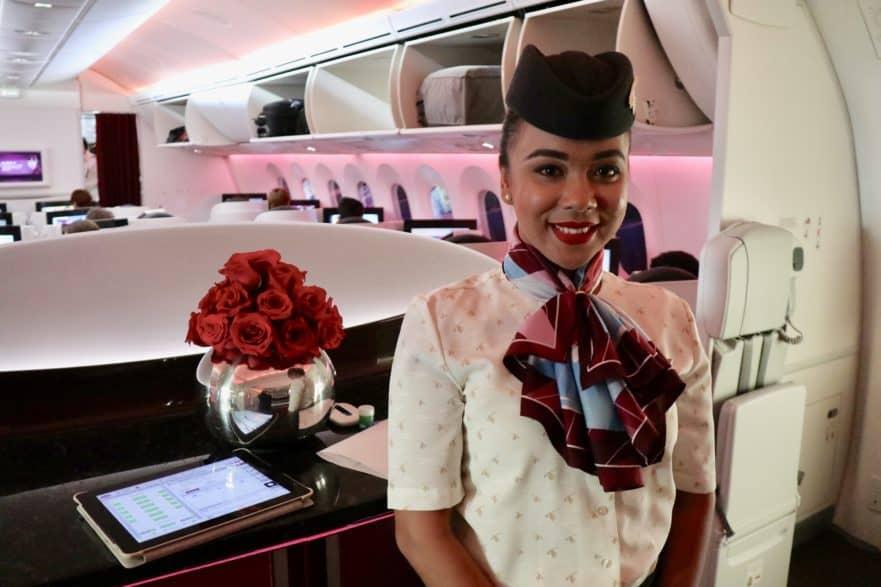 Transport Reiseaccessoires Erfrischungstuch Qatar-airline