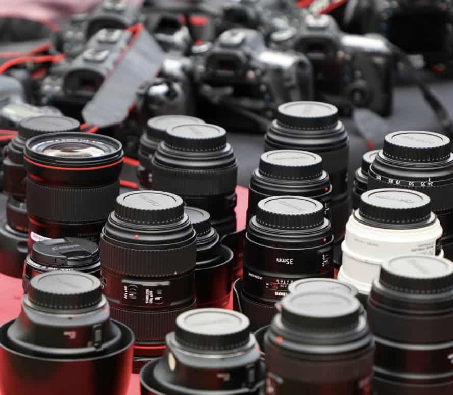 Tipps für dich richtige Wahl der Kamera und Objektive