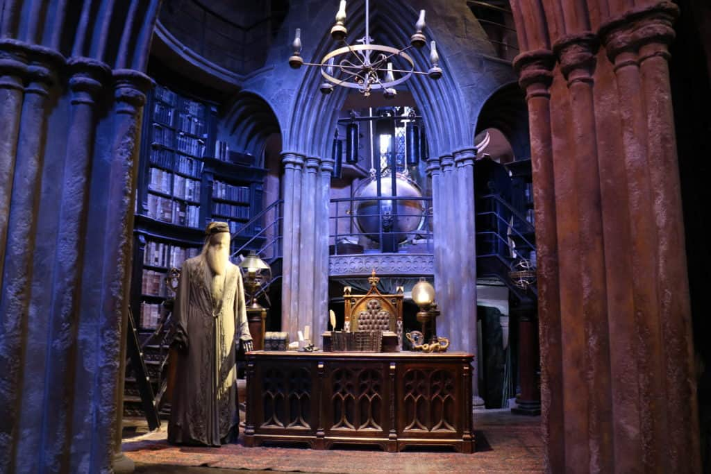 Harry Potter Studio Tour Warner Bros. Watford London Roadtrip Dumbledores Büro