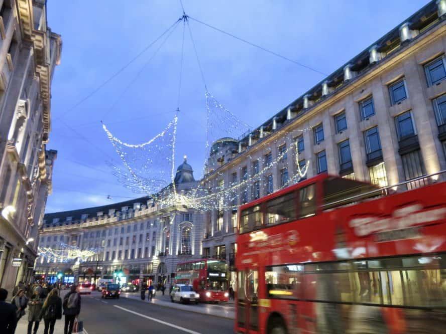 London zur (Vor-)Weihnachtszeit: Einkaufen und Weihnachtsmärkte