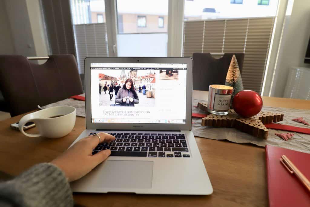 [7ways2travel] Homestory: Ein Tag mit CitySeaCountry (so leben und arbeiten Reiseblogger)