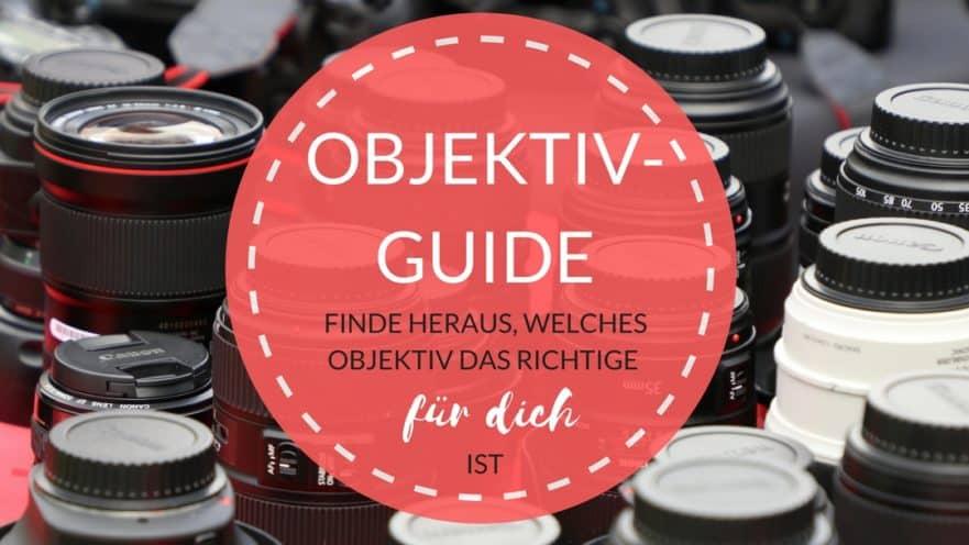 Objektiv-Guide Canon: Wie du das richtige Objektiv zum Fotografieren findest
