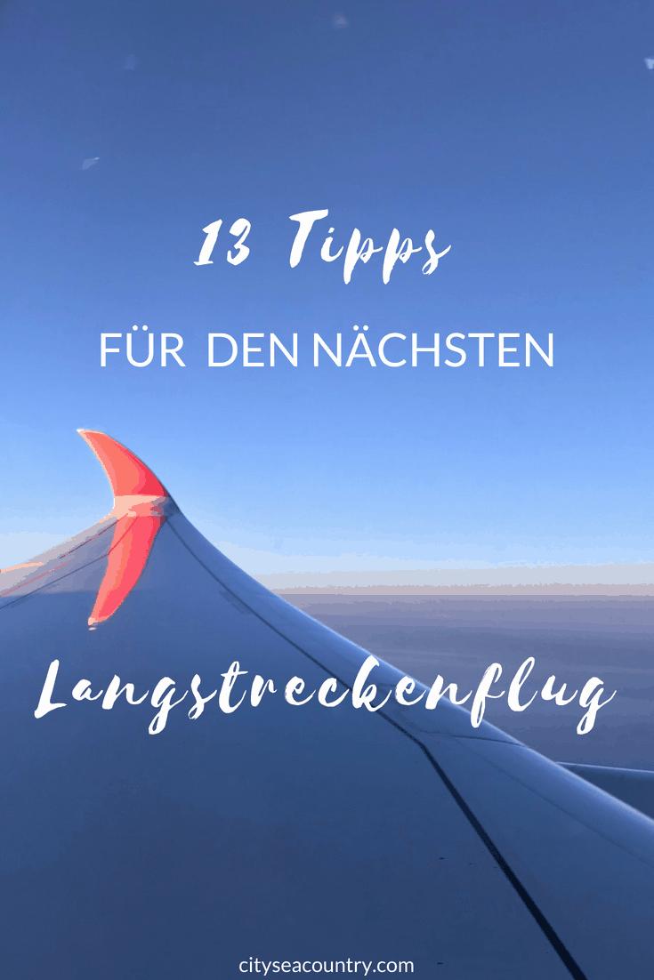13 Tipps für deinen nächsten Langstreckenflug
