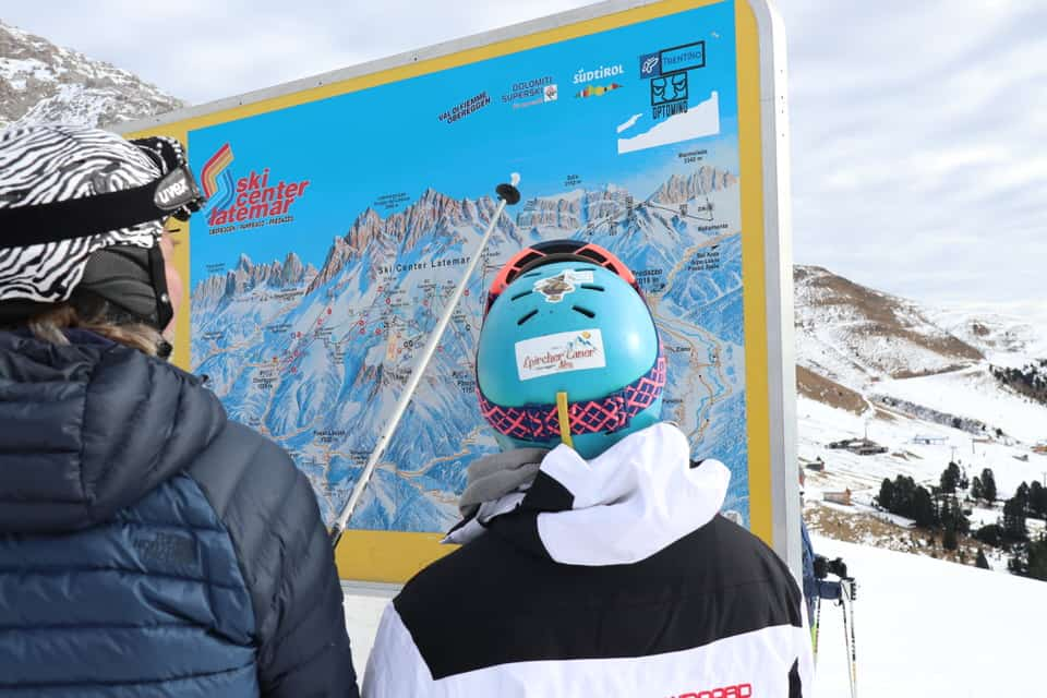 Obereggen in Südtirol: Ski fahren deluxe in den Dolomiten