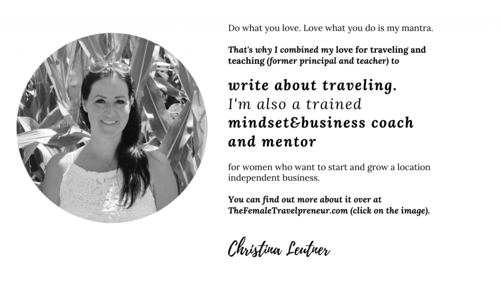 travel blogging and business