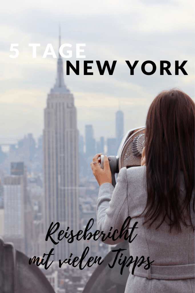 5 Tage New York - Reisebericht New York City