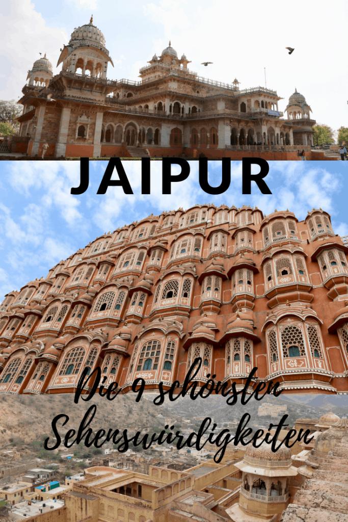 Jaipur Sehenswürdigkeiten: Die 9 schönsten Plätze in der pinker Stadt
