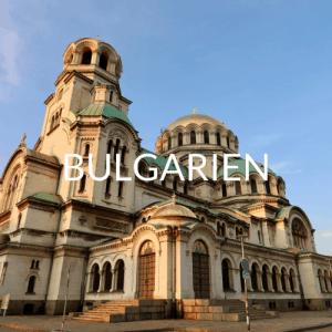 Roadtrip Bulgarien Reiseverlauf